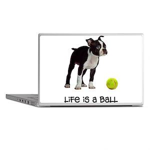 Boston Terrier Life Laptop Skins