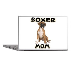 Boxer Mom Laptop Skins