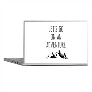 Let's Go On An Adventure Laptop Skins