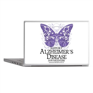 Alzhimers Butterfly 4 Laptop Skins