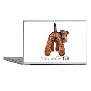 Airedale Terrier Talk Laptop Skins