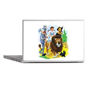 Wizard of Oz - Follow the Yellow Bric Laptop Skins