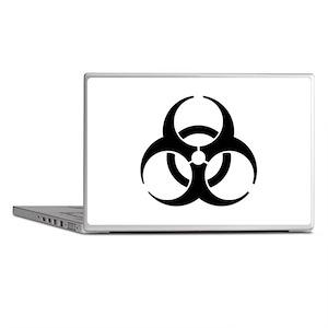 Biohazard Symbol Laptop Skins