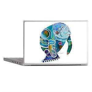 Manatees 1 Laptop Skins
