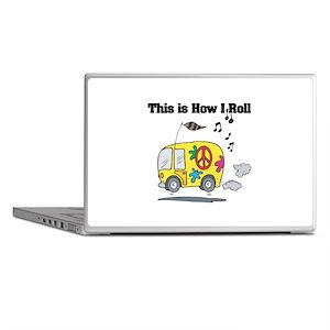 How I Roll (Hippie Bus/Van) Laptop Skins