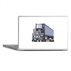 How I Roll (Tractor Trailer) Laptop Skins
