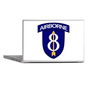 8th Infantry Airborne Laptop Skins