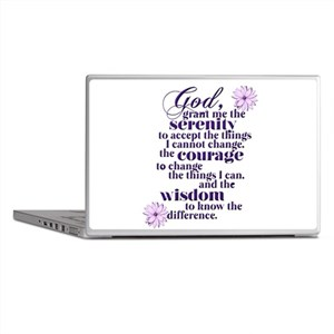 Serenity Prayer Laptop Skins