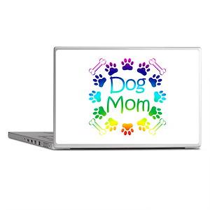"""""""Dog Mom"""" Laptop Skins"""