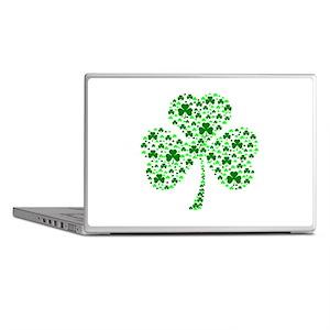 Irish Shamrocks Laptop Skins
