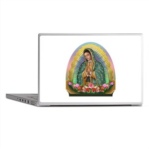 Guadalupe Yellow Aura Laptop Skins