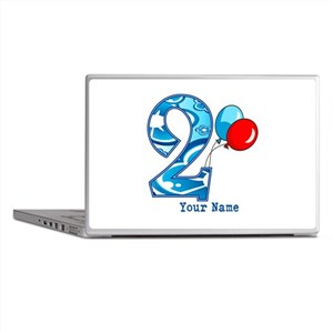 2nd Birthday Personalized Laptop Skins