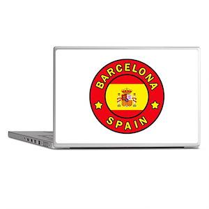 Barcelona Spain Laptop Skins