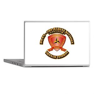 USMC - HQ Bn - 3rd Marine Division VN Laptop Skins