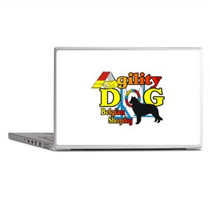 Belgian Sheepdog Agility Laptop Skins