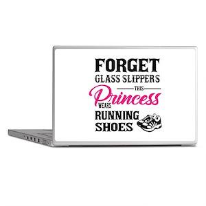 This Princess Wears Running Shoes Laptop Skins