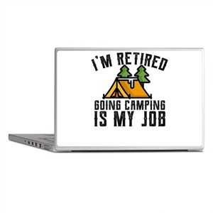 Camping Shirt for Newly Retired Campi Laptop Skins