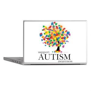 Autism Tree Laptop Skins