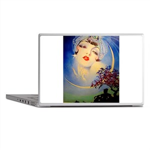 Henry Clive Woman in the Moon, Art Deco Laptop Ski