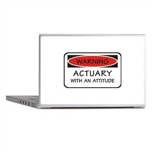 Actuary With An Attitude Laptop Skins