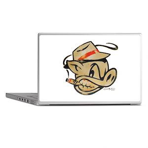 Smokin Pig by Elliott Mattice Laptop skin