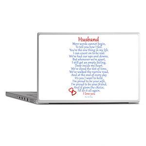 Husband Love Laptop Skins
