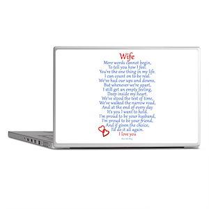 Wife Love Laptop Skins