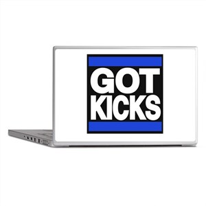 got kicks lg blue Laptop Skins