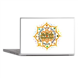 Multiple Sclerosis Lotus Laptop Skins