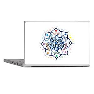 Skin Cancer Lotus Laptop Skins