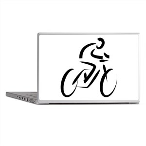 Cyclist Laptop Skins