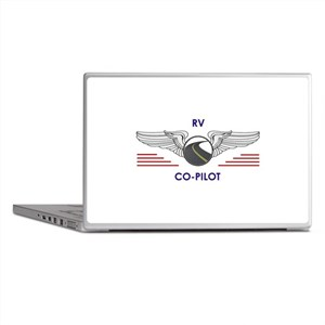 RV Co-Pilot Laptop Skins