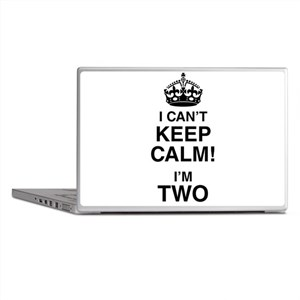I Can't Keep Calm I'm Two Laptop Skins