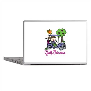 Golf Princess Laptop Skins