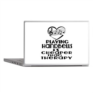 Handbells Is Cheaper Than Therapy Laptop Skins