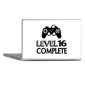 Level 16 Complete Birthday Designs Laptop Skins