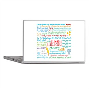 The Big Bang Stuff Laptop Skins