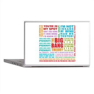 Big Bang Quotes Laptop Skins