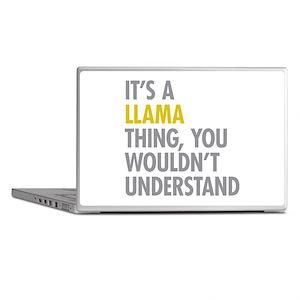 Its A Llama Thing Laptop Skins