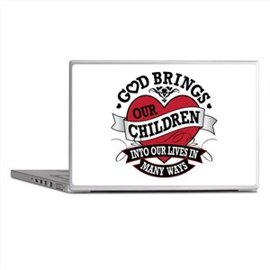 Adoption Tattoo Laptop Skins