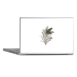 Peacock Feather Laptop Skins