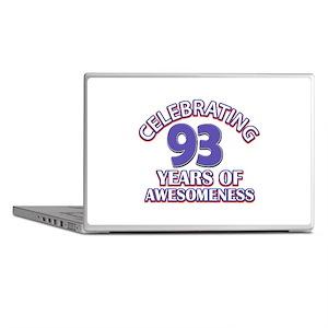 Celebrating 93 Years Laptop Skins