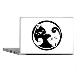 Yin Yang Cats Laptop Skin