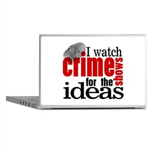 Crime Show Ideas Laptop Skins