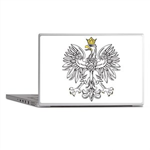 Polish Eagle With Gold Crown Laptop Skins