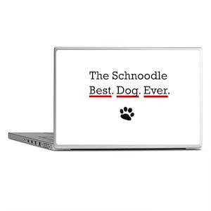 The Schnoodle Best Dog Ever Laptop Skins