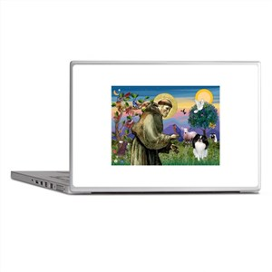 St Francis' Japanese Chin Laptop Skins