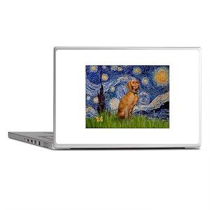 Starry Night & Vizsla Laptop Skins