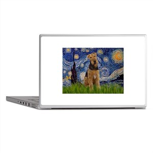 Starry - Airedale #1 Laptop Skins