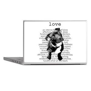 Pit Bull Love Laptop Skins